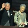 皇居宮内庁新年一般参賀2017開催。眞子さま佳子さまも出席